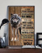 Picture for lover wolf 11x17 Poster lifestyle-poster-2