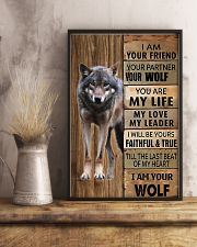 Picture for lover wolf 11x17 Poster lifestyle-poster-3