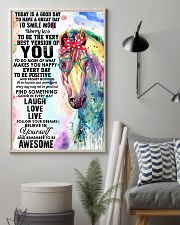 Picture Horse 24x36 Poster lifestyle-poster-1