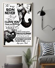Picture elephant 11x17 Poster lifestyle-poster-1