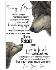 Picture Wolf 11x17 Poster front