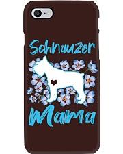 schnauzer shirt Phone Case thumbnail