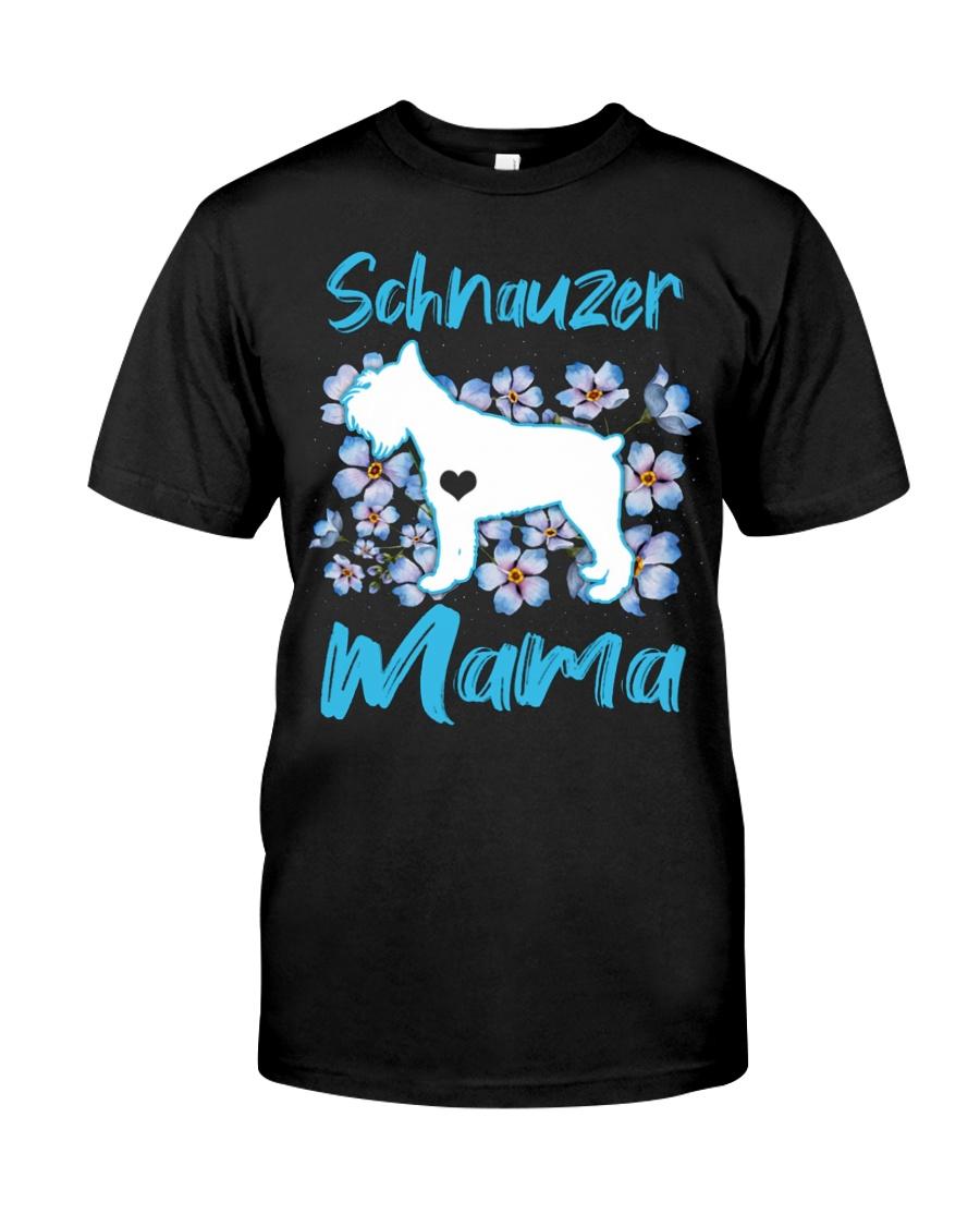 schnauzer shirt Classic T-Shirt