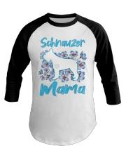 schnauzer shirt Baseball Tee thumbnail