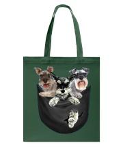 bulldog shirt Tote Bag thumbnail