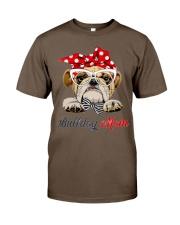 bulldog shirt Classic T-Shirt front