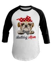 bulldog shirt Baseball Tee thumbnail