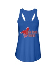 Horse Ranch Bonaire New Logo Ladies Flowy Tank front