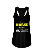 It's a Horse Thing Ladies Flowy Tank thumbnail