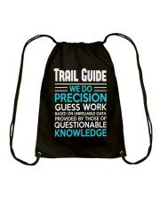 Trail guide Drawstring Bag thumbnail