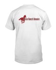 Horse Ranch Bonaire Logo Classic T-Shirt back