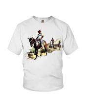 Horsebackriding Youth T-Shirt thumbnail