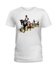Horsebackriding Ladies T-Shirt thumbnail