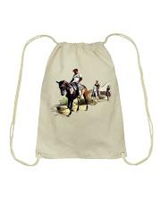 Horsebackriding Drawstring Bag thumbnail