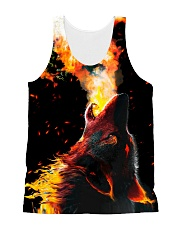 I LOVE WOLVES All-over Unisex Tank thumbnail