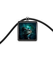 WOLF NECKLACE Cord Rectangle Necklace thumbnail
