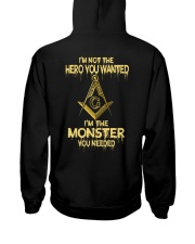 FREEMASON  Hooded Sweatshirt back