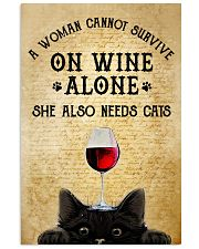 A Woman Cannot Survive On Wine Alone  11x17 Poster front
