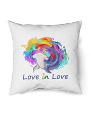 """Love in Love Indoor Pillow - 16"""" x 16"""" front"""