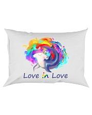 Love in Love Rectangular Pillowcase tile