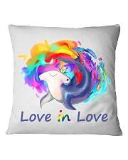 Love in Love Square Pillowcase tile