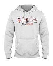 Meowy Christmas Hooded Sweatshirt tile
