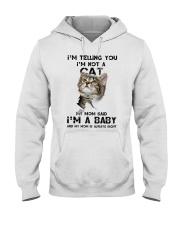 Baby cat Hooded Sweatshirt tile
