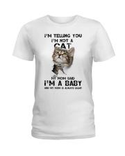 Baby cat Ladies T-Shirt tile