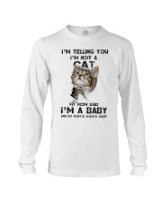 Baby cat Long Sleeve Tee front