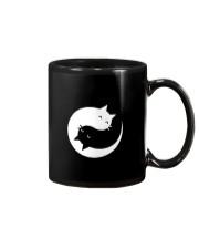 Yin and yang cat Mug tile