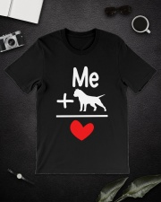 Dog Premium Fit Mens Tee lifestyle-mens-crewneck-front-16