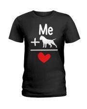 Dog Ladies T-Shirt tile