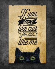 If You Don't Like Cats You Don't Like Me 11x17 Poster aos-poster-portrait-11x17-lifestyle-12