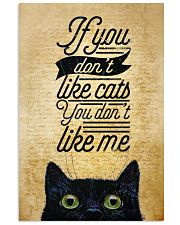 If You Don't Like Cats You Don't Like Me 11x17 Poster front