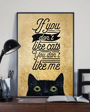 If You Don't Like Cats You Don't Like Me 11x17 Poster lifestyle-poster-2