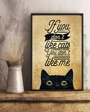 If You Don't Like Cats You Don't Like Me 11x17 Poster lifestyle-poster-3