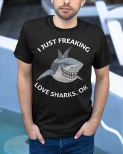 Love shark Classic T-Shirt apparel-classic-tshirt-lifestyle-front-45