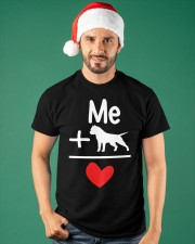 Dog and Me Classic T-Shirt apparel-classic-tshirt-lifestyle-front-84