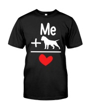 Dog and Me Classic T-Shirt front