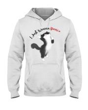 Black cat Hooded Sweatshirt tile