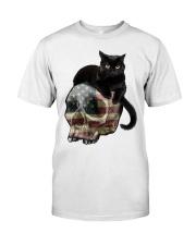 Skull cat Classic T-Shirt tile