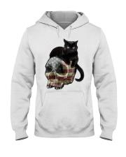 Skull cat Hooded Sweatshirt front
