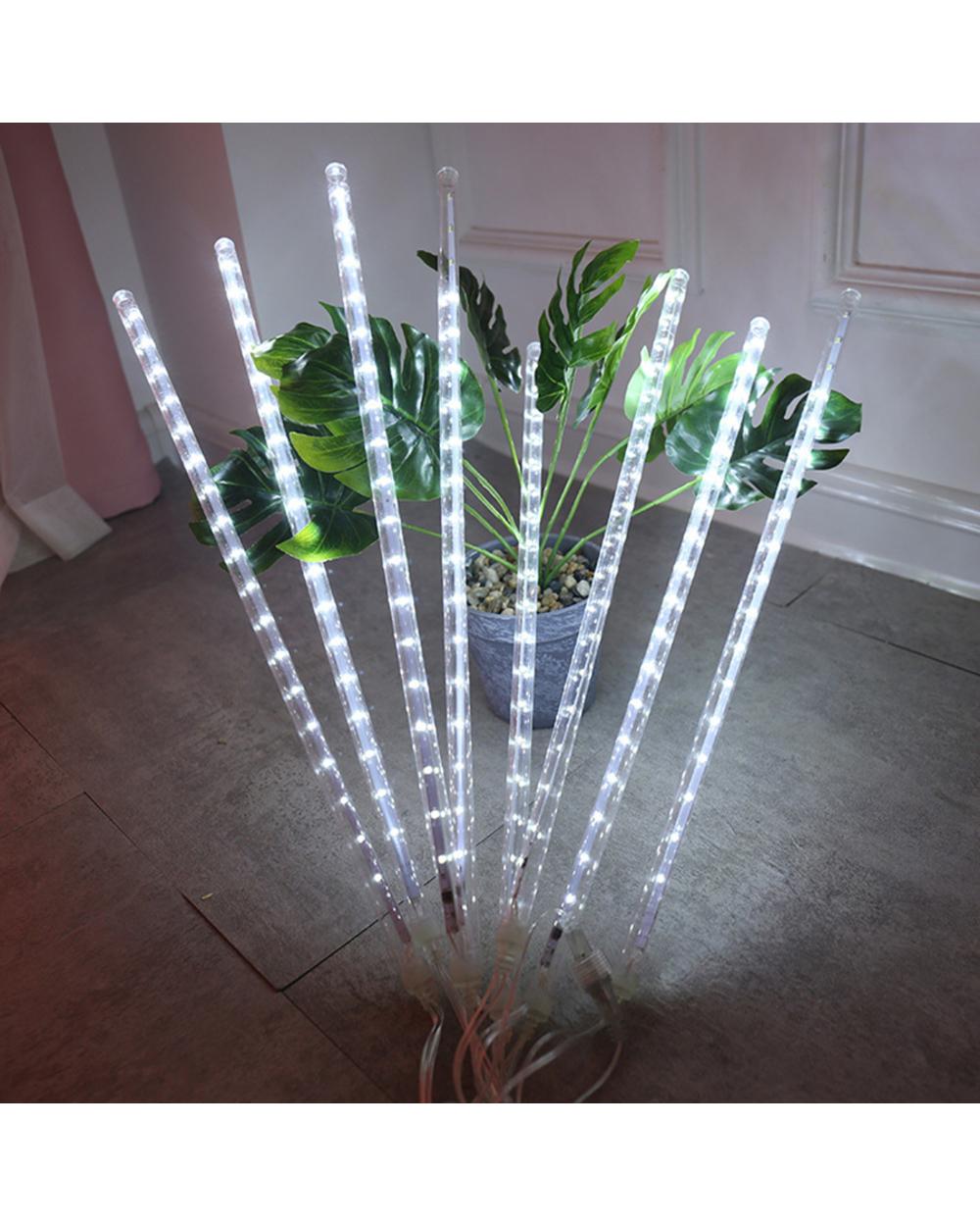 Outdoor LED String Lights Meteor Shower Lights 50cm - UK  1