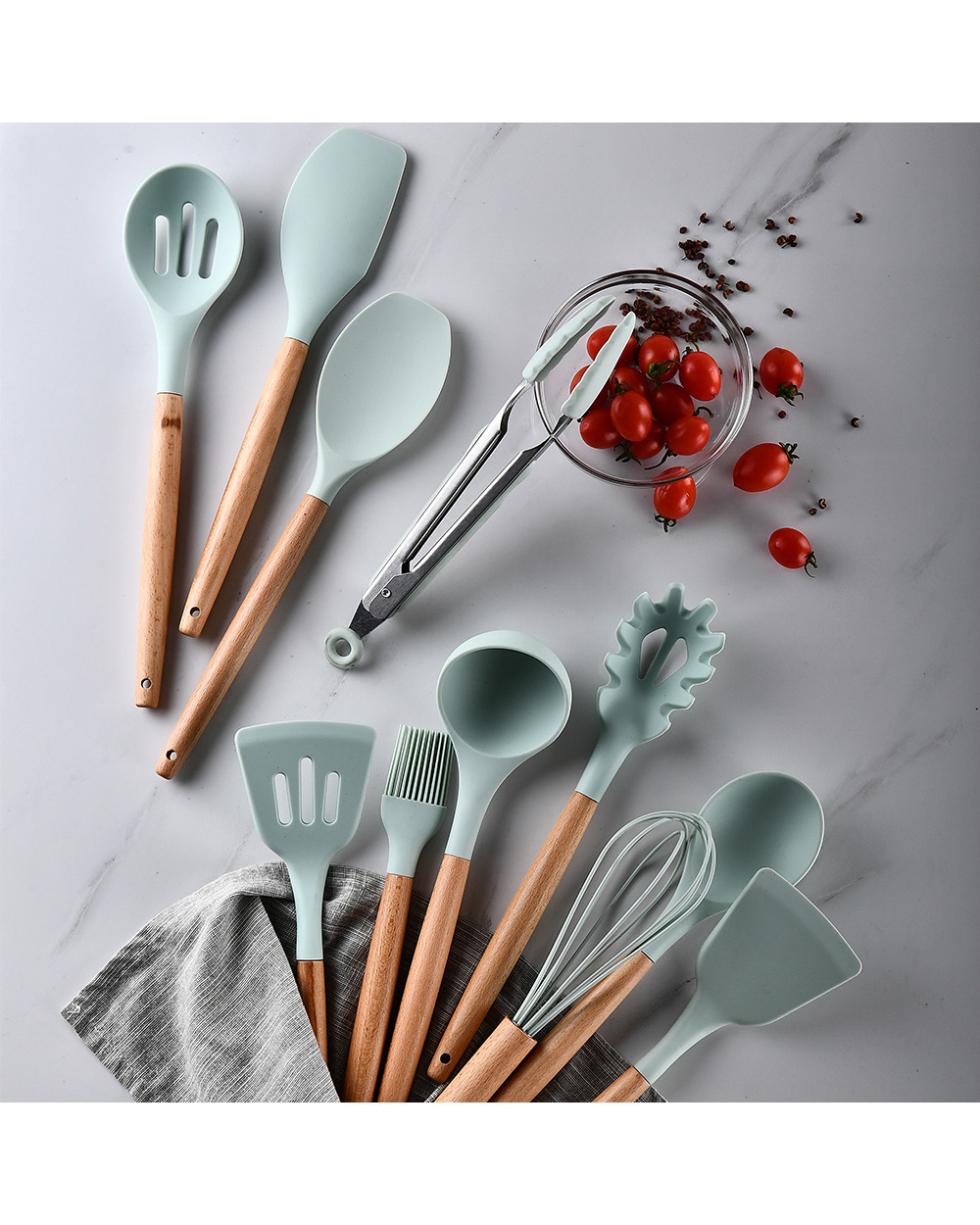 Silicone Cooking Utensils  Silicone Cooking Utensils 4