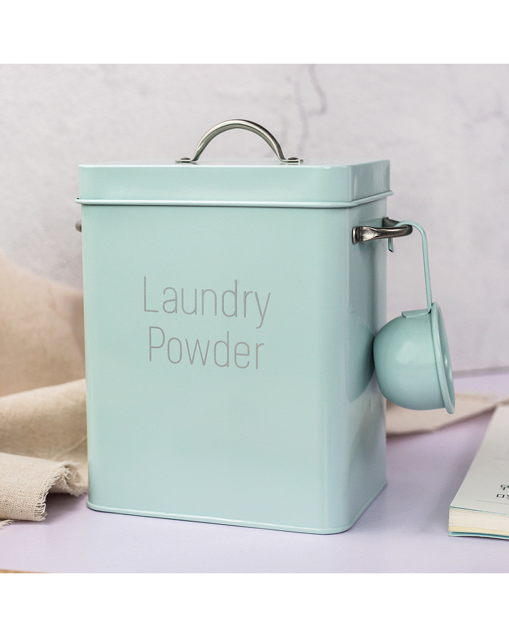 Laundry Storage Box  Laundry Powder Storage Box 1