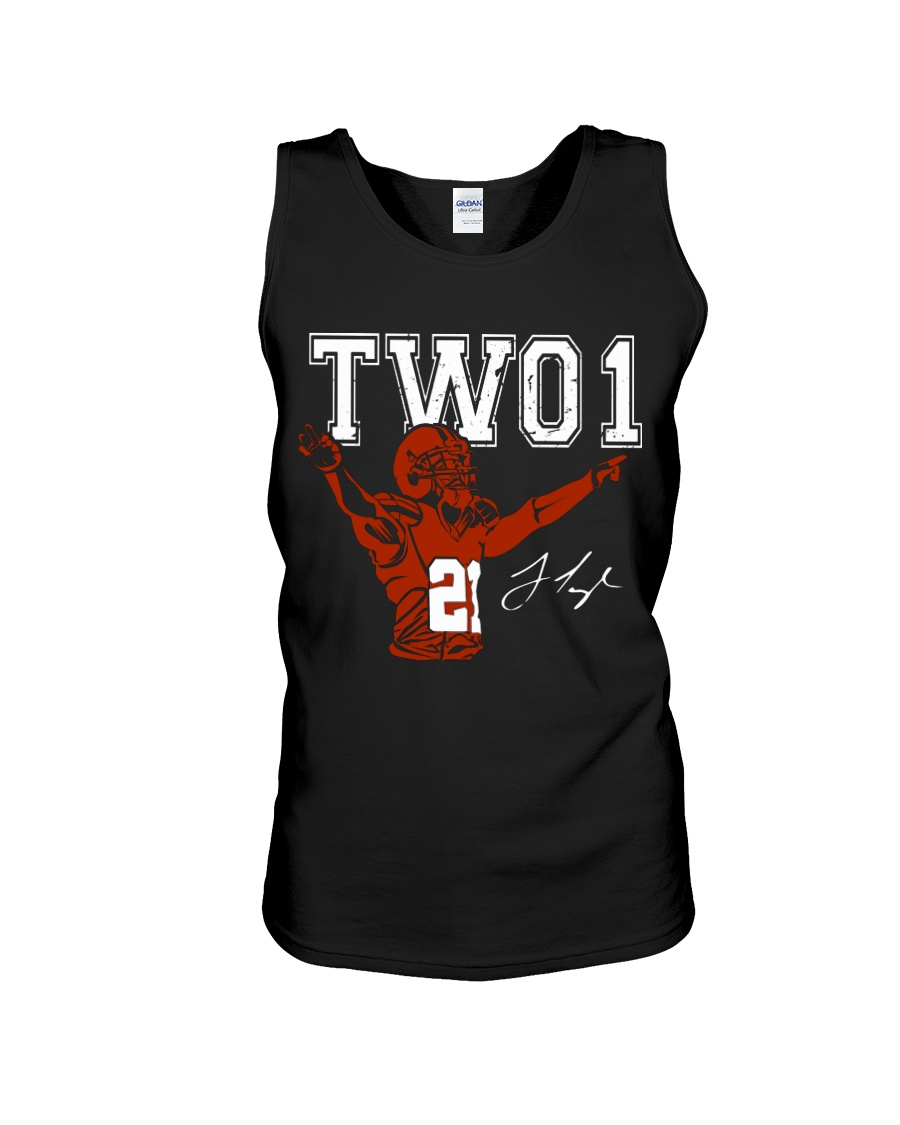 TWO1: Jamar Taylor limited edition Tee Unisex Tank