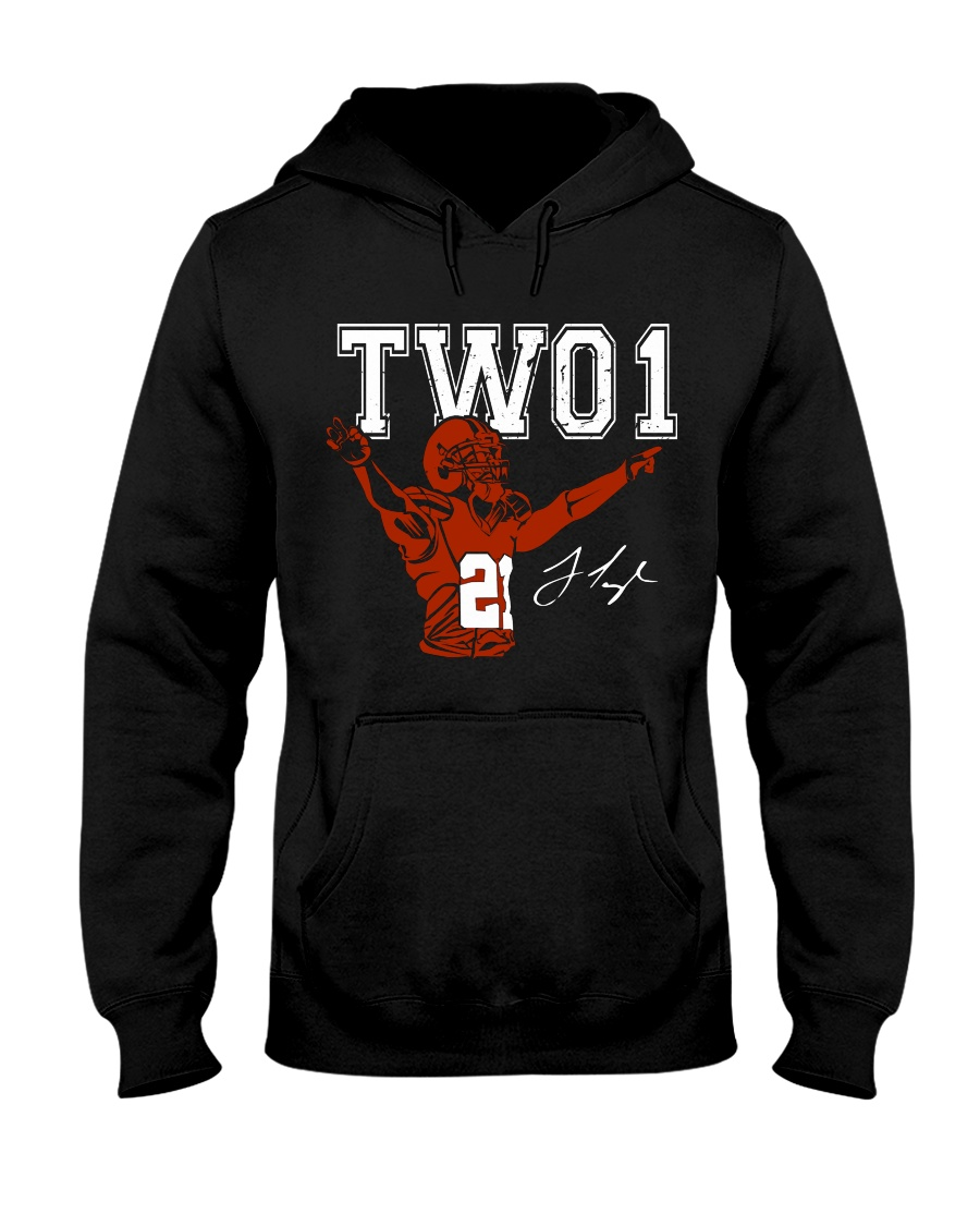 TWO1: Jamar Taylor limited edition Tee Hooded Sweatshirt