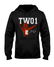 TWO1: Jamar Taylor limited edition Tee Hooded Sweatshirt front