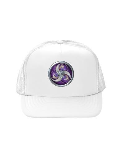 Purple Triple Horn Norse Dragons