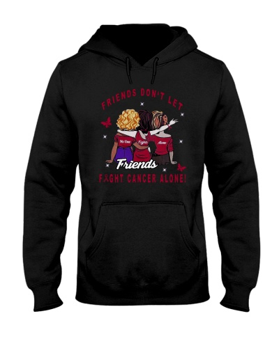 LIMITED EDITION- Red ribbon cancer friends shirt